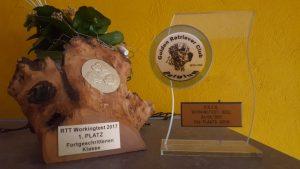 Absolut Alpha von der Kaninhütte nach erfolgreichem Stechen auf Platz 2 in Geel/Belgien